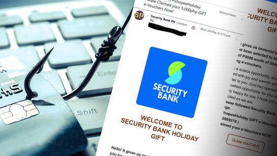 Cảnh báo email lừa đảo mạo danh ngân hàng