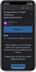 Cảnh báo lừa đảo email bằng cách mạo danh Walmart